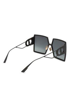 Женские солнцезащитный очки DIOR черного цвета, арт. 30M0NTAIGNE 807 1I | Фото 4
