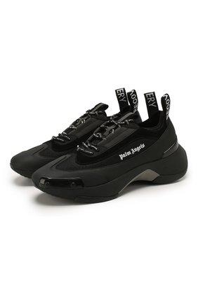 Мужские комбинированные кроссовки recovery PALM ANGELS черного цвета, арт. PMIA035S205930011000 | Фото 1