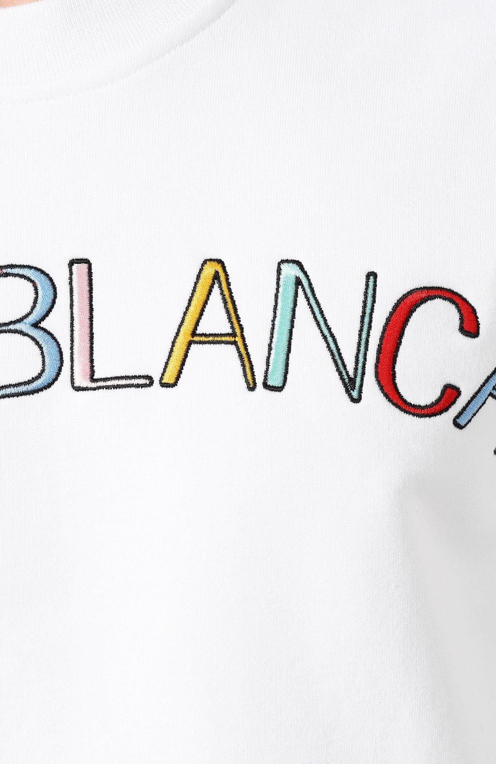 Мужской хлопковый свитшот CASABLANCA белого цвета, арт. MS20-JTP-001 CASA ARCH L0G0 | Фото 5
