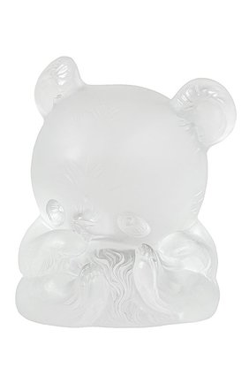 Мужская скульптура панда yang-yang LALIQUE прозрачного цвета, арт. 89010103 | Фото 1