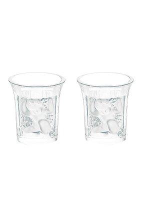 Мужской набор из 2-х стаканов для ликера children LALIQUE прозрачного цвета, арт. 1710300 | Фото 1
