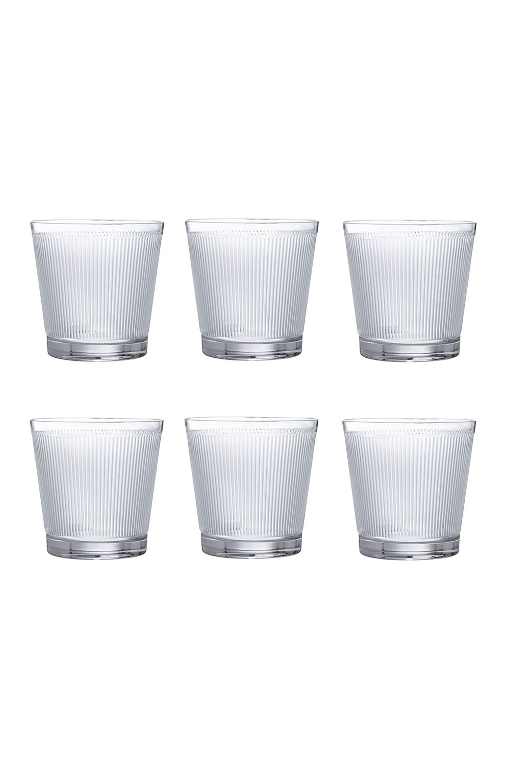 Мужского набор из 6-ти стаканов для виски wingen LALIQUE прозрачного цвета, арт. 10688400 | Фото 1