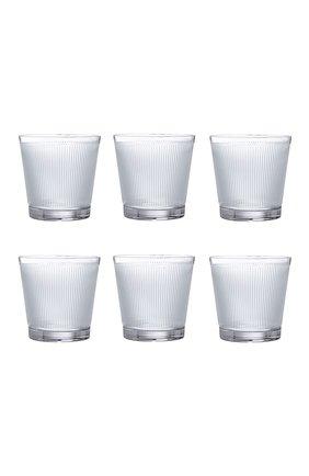 Мужской набор из 6-ти стаканов для виски wingen LALIQUE прозрачного цвета, арт. 10688400 | Фото 1