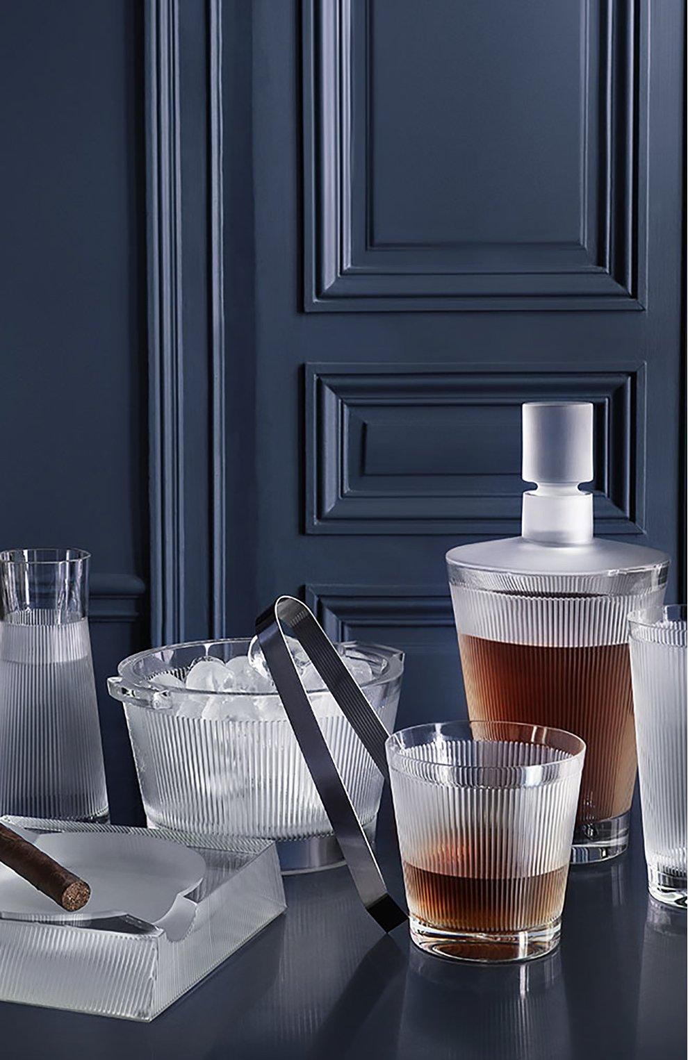 Мужского набор из 6-ти стаканов для виски wingen LALIQUE прозрачного цвета, арт. 10688400 | Фото 2