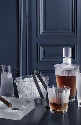 Мужской набор из 2-х стаканов для виски wingen LALIQUE прозрачного цвета, арт. 10688300 | Фото 2