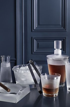 Мужской набор из 6-ти стаканов для сока wingen LALIQUE прозрачного цвета, арт. 10688100 | Фото 2