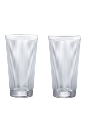 Мужской набор из 2-х стаканов для сока wingen LALIQUE прозрачного цвета, арт. 10688000 | Фото 1