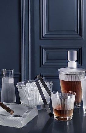 Мужского набор из 2-х стаканов для сока wingen LALIQUE прозрачного цвета, арт. 10688000 | Фото 2