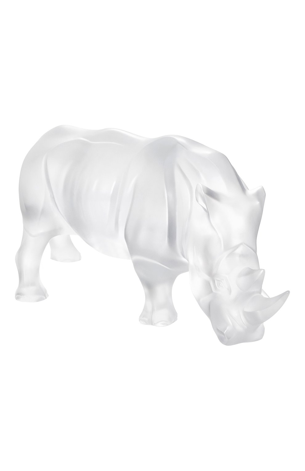 Мужского скульптура носорог LALIQUE прозрачного цвета, арт. 10600300   Фото 1
