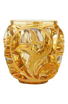 Мужская ваза tourbillons LALIQUE оранжевого цвета, арт. 10571300 | Фото 1