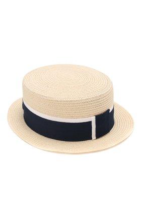 Женская шляпа auguste MAISON MICHEL темно-синего цвета, арт. 1011021002/AUGUSTE   Фото 1