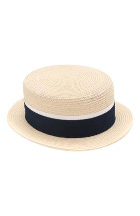 Женская шляпа auguste MAISON MICHEL темно-синего цвета, арт. 1011021002/AUGUSTE   Фото 2