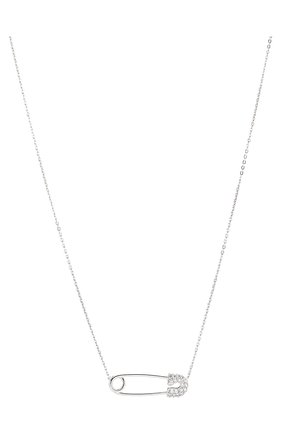 Женское колье J-POINT серебряного цвета, арт. ИПГ857.2.220120.1W   Фото 2