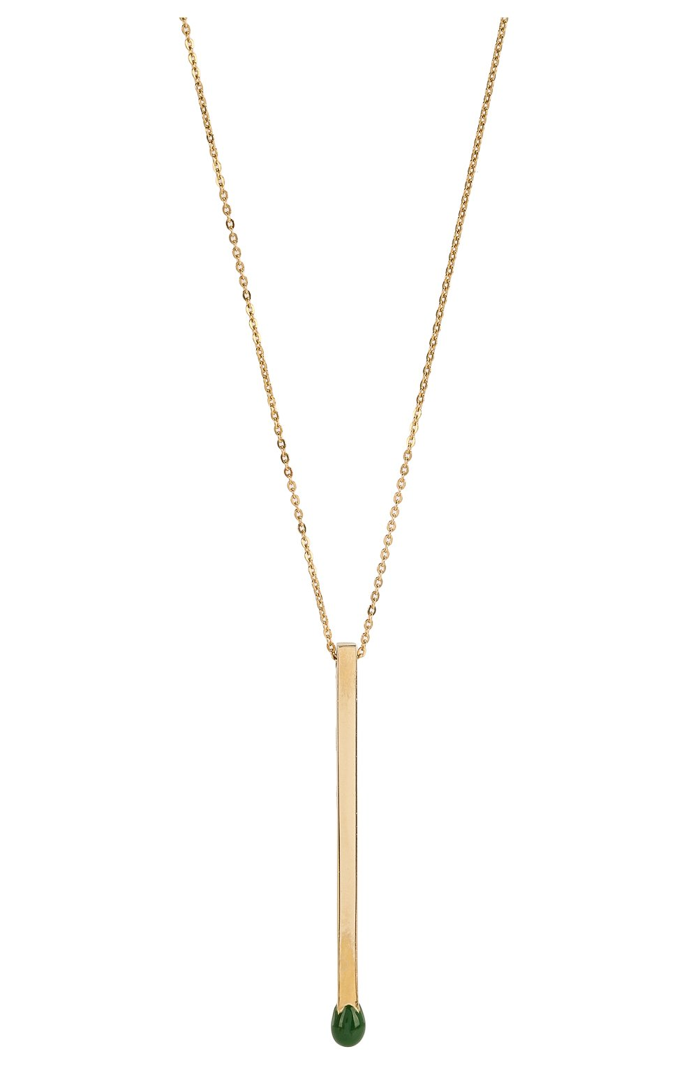 Женское колье J-POINT золотого цвета, арт. СП857.8.060220.21Y | Фото 2 (Материал: Золото)