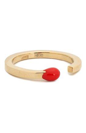 Женское кольцо J-POINT золотого цвета, арт. СП857.8.060220.9Y   Фото 2
