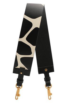 Женские ремень для сумки valentino garavani VALENTINO черного цвета, арт. TW2P0T08/GZL | Фото 1