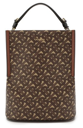 Женская сумка bucket BURBERRY коричневого цвета, арт. 8026825 | Фото 1