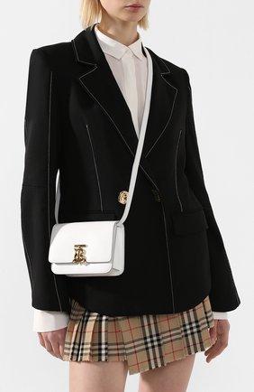Женская сумка tb BURBERRY белого цвета, арт. 8028435 | Фото 2