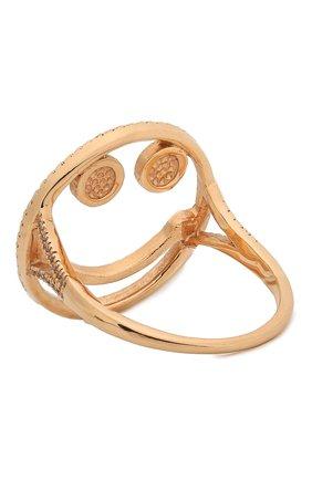 Женское кольцо J-POINT золотого цвета, арт. Sm857.6.6P   Фото 2