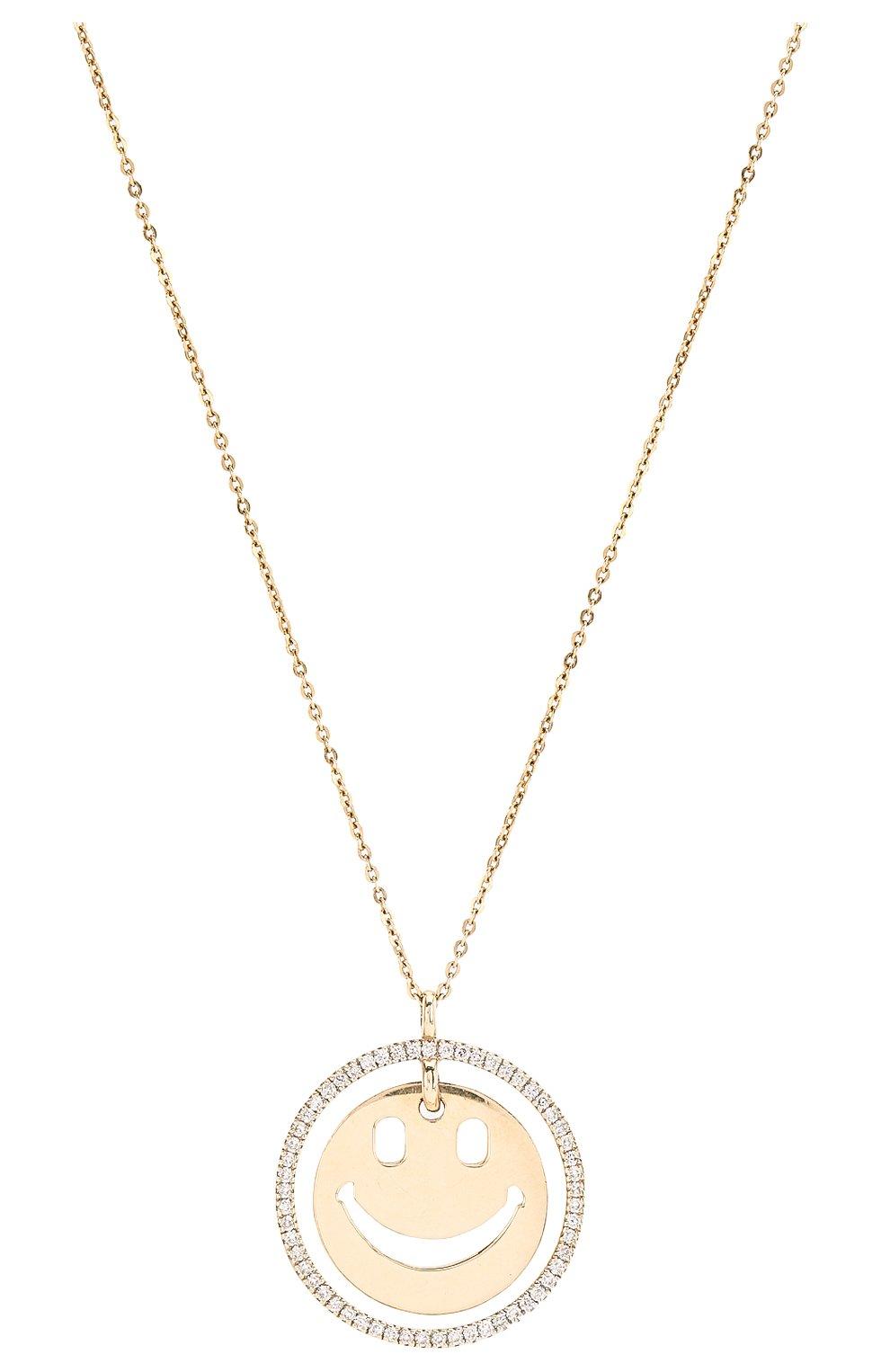 Женская колье J-POINT золотого цвета, арт. ИПГ857.29.290818.7Y | Фото 2 (Материал: Золото)