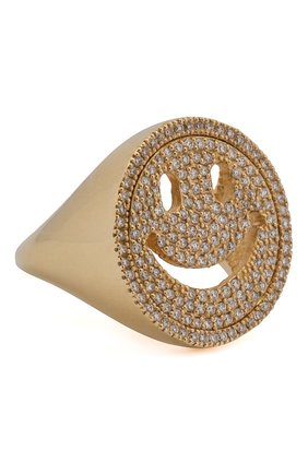 Женское кольцо J-POINT золотого цвета, арт. Sm857.37.040619.13Y   Фото 1