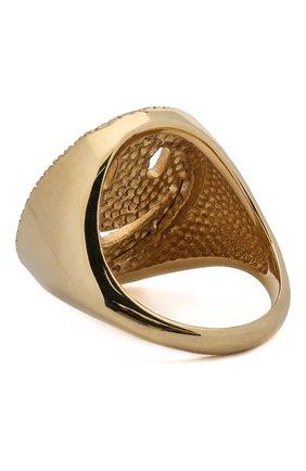 Женское кольцо J-POINT золотого цвета, арт. Sm857.37.040619.13Y   Фото 2