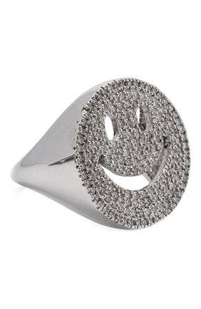 Женское кольцо J-POINT серебряного цвета, арт. ИПГ857.29.230519.1W | Фото 1