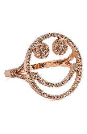 Женское кольцо J-POINT золотого цвета, арт. Sm857.7.4P   Фото 1