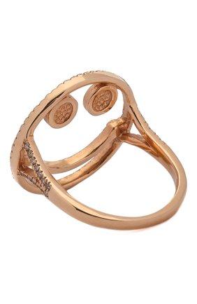 Женское кольцо J-POINT золотого цвета, арт. Sm857.7.4P   Фото 2