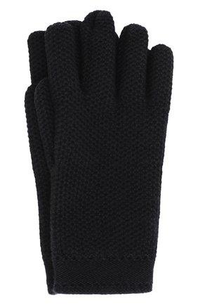Женские кашемировые перчатки LORO PIANA темно-синего цвета, арт. FAA1252 | Фото 1