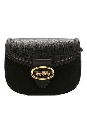 Женская сумка kat COACH черного цвета, арт. 84715 | Фото 1