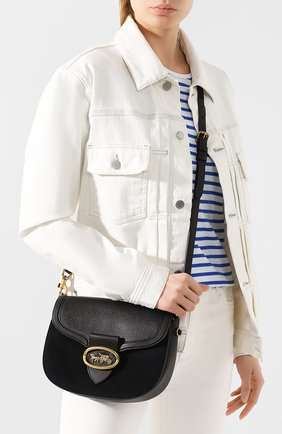 Женская сумка kat COACH черного цвета, арт. 84715 | Фото 2