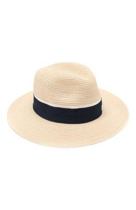Женская шляпа henrietta MAISON MICHEL светло-бежевого цвета, арт. 1002049002/HENRIETTA   Фото 1
