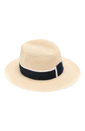 Женская шляпа henrietta MAISON MICHEL светло-бежевого цвета, арт. 1002049002/HENRIETTA   Фото 2