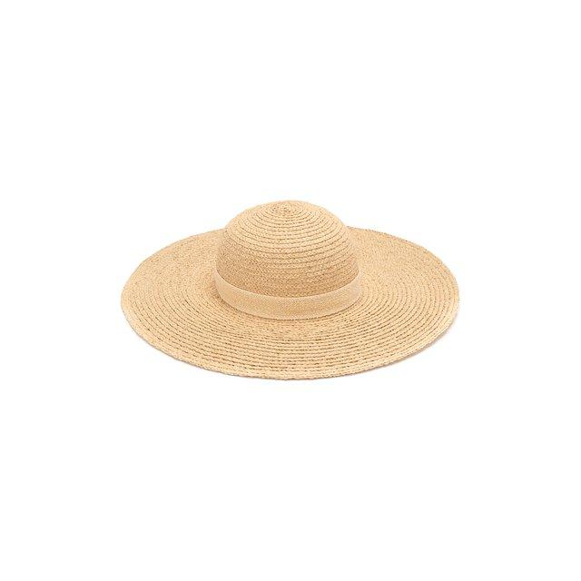 Шляпа Blanche из рафии Maison Michel