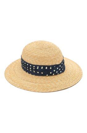 Женская соломенная шляпа new alice MAISON MICHEL светло-бежевого цвета, арт. 1016015001/NEW ALICE | Фото 1