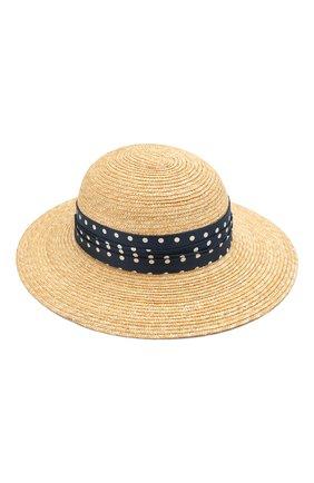 Женская соломенная шляпа new alice MAISON MICHEL светло-бежевого цвета, арт. 1016015001/NEW ALICE | Фото 2