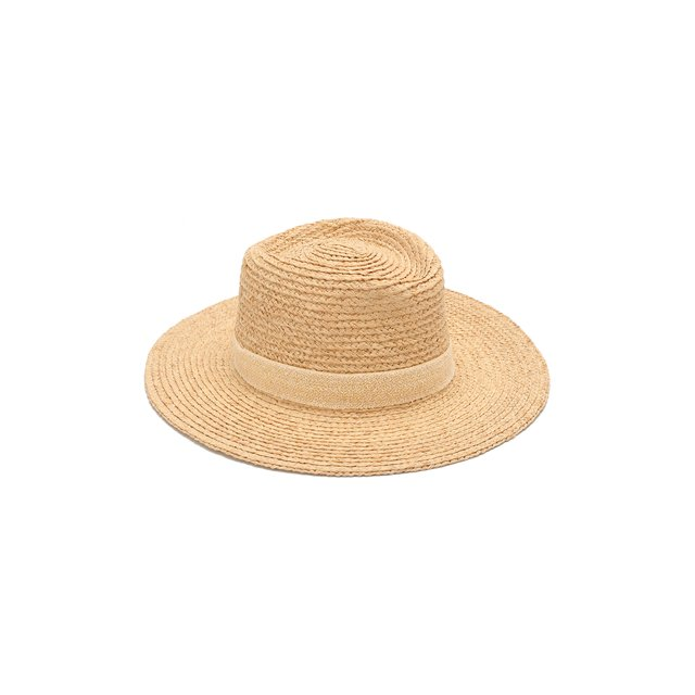 Шляпа Charles из рафии Maison Michel