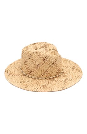 Шляпа Rose из рафии | Фото №1