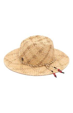 Шляпа Rose из рафии | Фото №2