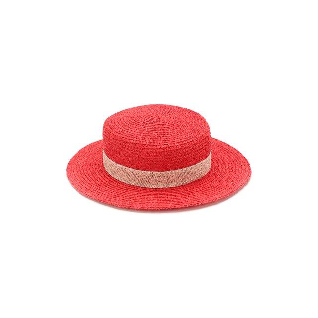 Шляпа Kiki из рафии Maison Michel