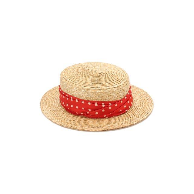 Соломенная шляпа Kiki Maison Michel