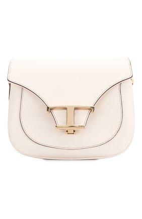 Женская сумка t singola TOD'S белого цвета, арт. XBWTSIC0000001 | Фото 1