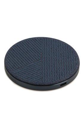 Мужская беспроводное зарядное устройство drop 10w NATIVE UNION синего цвета, арт. DROP-IND-FB-V2 | Фото 2