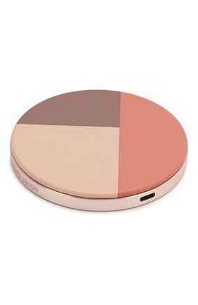 Мужская беспроводное зарядное устройство drop marquetry 10w NATIVE UNION розового цвета, арт. DROP-ROSE-MARQ-V2 | Фото 2