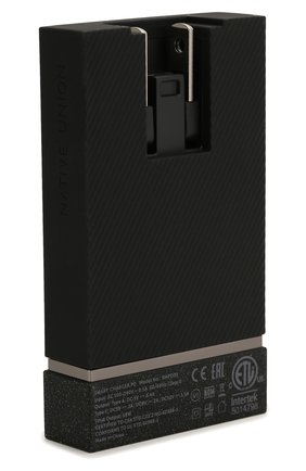 Сетевое зарядное устройство smart charger usb-a/usb-c NATIVE UNION серого цвета, арт. SMART-PD-GRY-INT   Фото 3