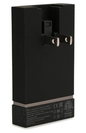 Сетевое зарядное устройство smart charger usb-a/usb-c NATIVE UNION серого цвета, арт. SMART-PD-GRY-INT   Фото 4