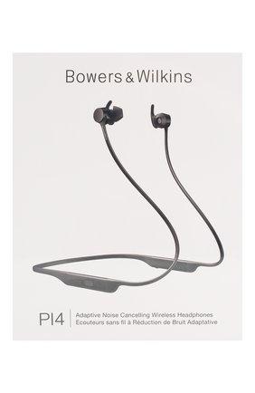 Беспроводные наушники pi4 BOWERS & WILKINS черного цвета, арт. FP41238 | Фото 1