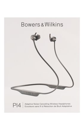Мужские беспроводные наушники pi4 BOWERS & WILKINS серебряного цвета, арт. FP41246 | Фото 1