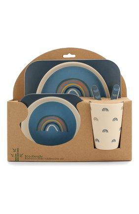 Детского набор бамбуковой посуды henry BLOOMINGVILLE голубого цвета, арт. 92304056 | Фото 1